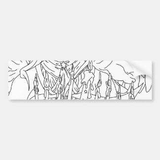 Chanukah Angel Bumper Stickers