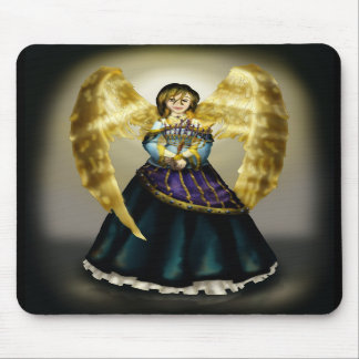 Chanukah Angel Mouse Pads