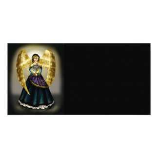 Chanukah Angel Customized Photo Card