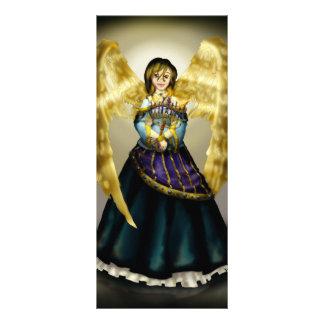 Chanukah Angel Full Color Rack Card