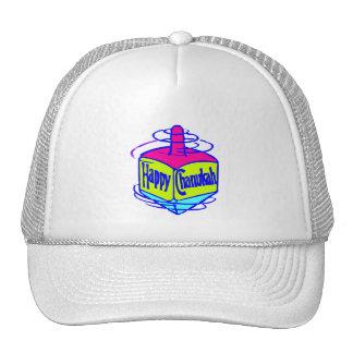Chanukah Dreidel Mesh Hat