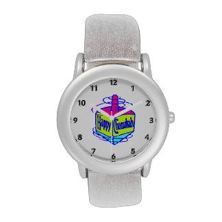 Chanukah Dreidel Watches