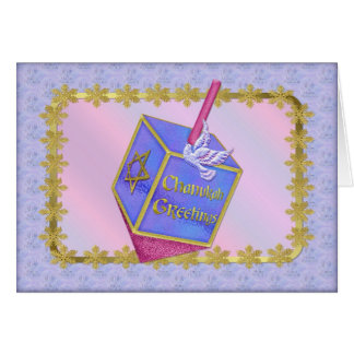 Chanukah Greetings Greeting Card