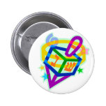 Chanukah/Hanukkah Products Pinback Buttons