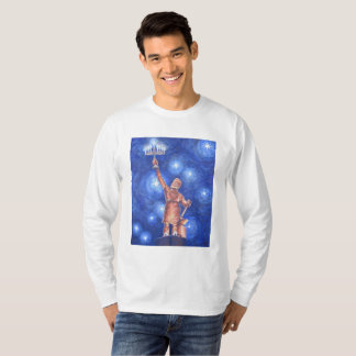 Chanukah Vulcan Men's Long-Sleeve T-Shirt