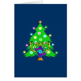 Chanukkah and Christmas Card