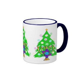Chanukkah and Christmas Coffee Mug