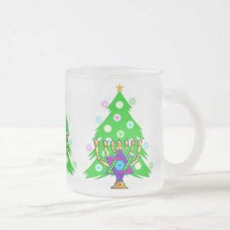 Chanukkah and Christmas Coffee Mugs