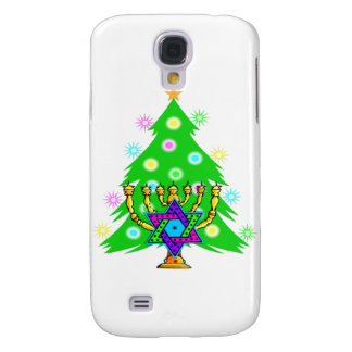 Chanukkah and Christmas Galaxy S4 Case