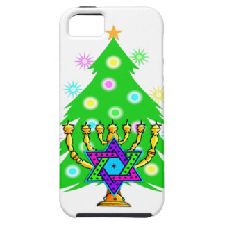 Chanukkah and Christmas iPhone 5 Cover