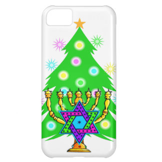 Chanukkah and Christmas iPhone 5C Cover