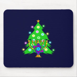 Chanukkah and Christmas Mouse Pads