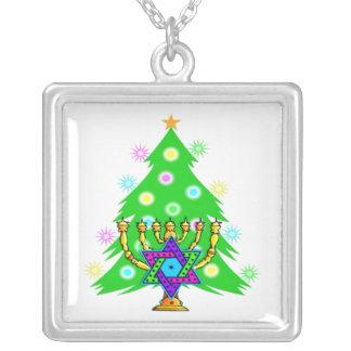 Chanukkah and Christmas Custom Necklace