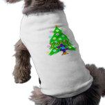 Chanukkah and Christmas Sleeveless Dog Shirt