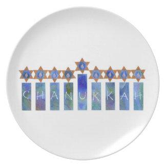 Chanukkah Plate