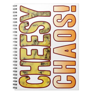 Chaos Blue Cheese Notebook