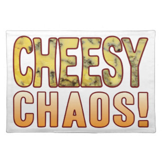 Chaos Blue Cheese Placemat