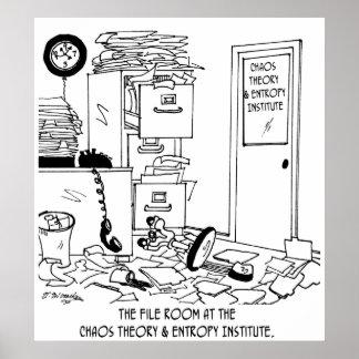 Chaos Cartoon 6292 Poster