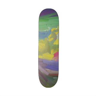 Chaos colorful pattern skateboards