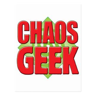 Chaos Geek v2 Postcards