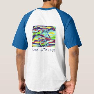 Chaos into Form Raglan T-Shirt Royal Blue