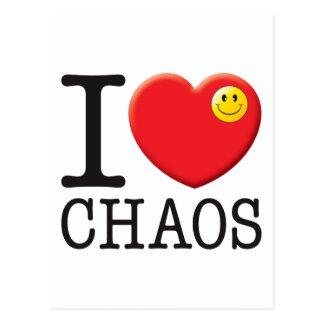 Chaos Love Post Card