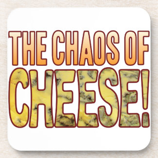 Chaos Of Blue Cheese Coaster