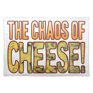 Chaos Of Blue Cheese Placemat