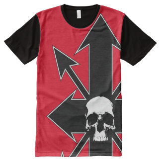 Chaos skull 2 All-Over print T-Shirt