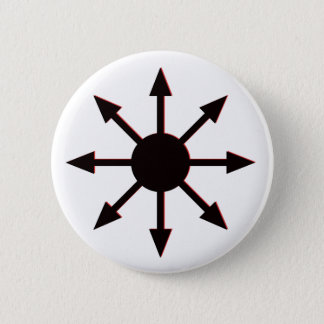 Chaos Star 6 Cm Round Badge