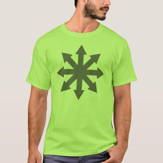 Chaos Symbol - Grey T-Shirt