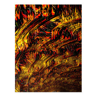 Chaos Theory 4 Abstract Fractal Art Postcard