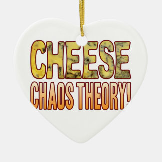 Chaos Theory Blue Cheese Ceramic Heart Decoration