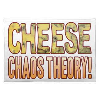 Chaos Theory Blue Cheese Placemat