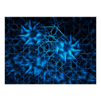 Chaos Theory Fractal Poster