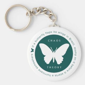 Chaos Theory (Green) Keyring Basic Round Button Key Ring