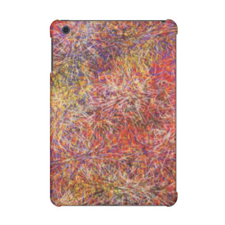 Chaotic abstract multicolored pattern
