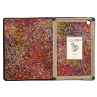 Chaotic abstract multicolored pattern iPad mini cases