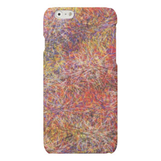 Chaotic abstract multicolored pattern iPhone 6 plus case