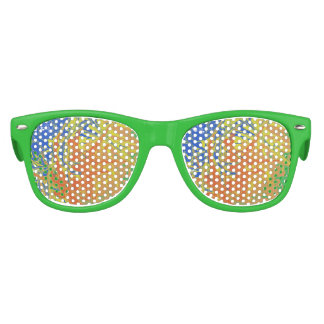 Chaotic and ugly pattern kids sunglasses