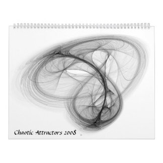 Chaotic Attractor Calendar