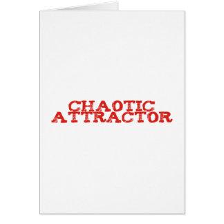 chaotic attractor grußkarten