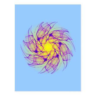 chaotic attractor Strudel whirlpool Postkarten