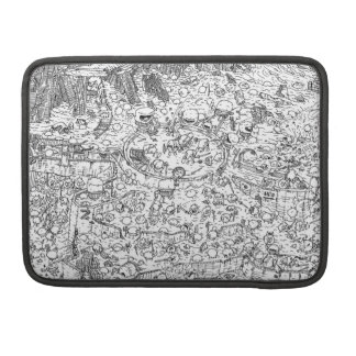 Chaotic Battle Sleeve MacBook Pro Sleeves