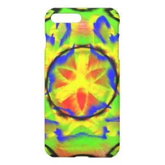 Chaotic colorful pattern iPhone 7 plus case