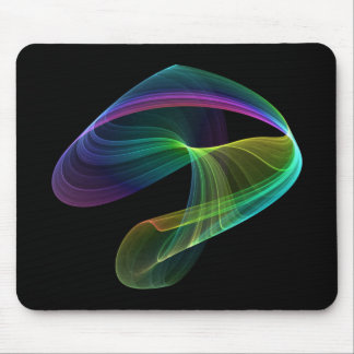 Chaotic Colors Mouse Pad