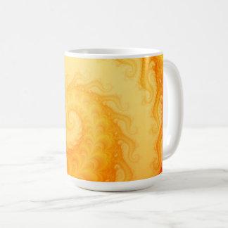 Chaotic Fractal Swirl Abstract Art Coffee Mug