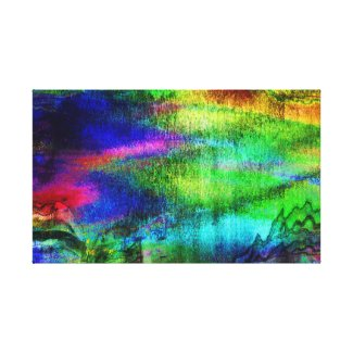 Chaotic Happiness Canvas Print