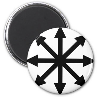 Chaotic Fridge Magnets