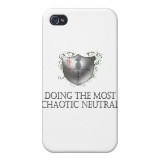 Chaotic Neutral iPhone 4/4S Covers